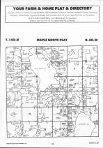 Maple Grove T142N-R40W, Becker County 1992 Published by Farm and Home Publishers, LTD